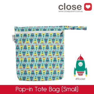 Close Parent Pop-In Small Wetbag Print/ colour Rockets