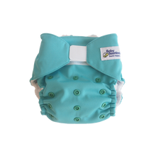 Load image into Gallery viewer, Baby BeeHinds Swim Nappy Colour/Print Marine Green
