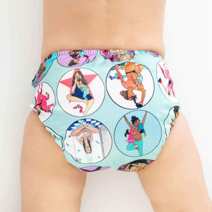 Designer Bums Art Pop All-In-Two