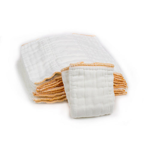 Ecobots Cotton Prefolds- 3 Pack