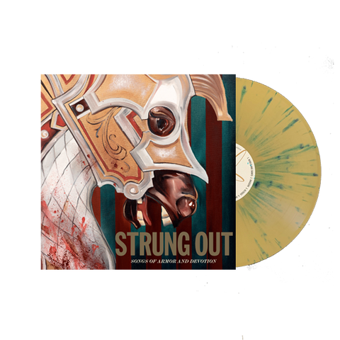 Songs of Armor and Devotion - Gold with Blue Splatter Limited Vinyl