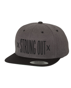 x Strung Out x Snapback Grey