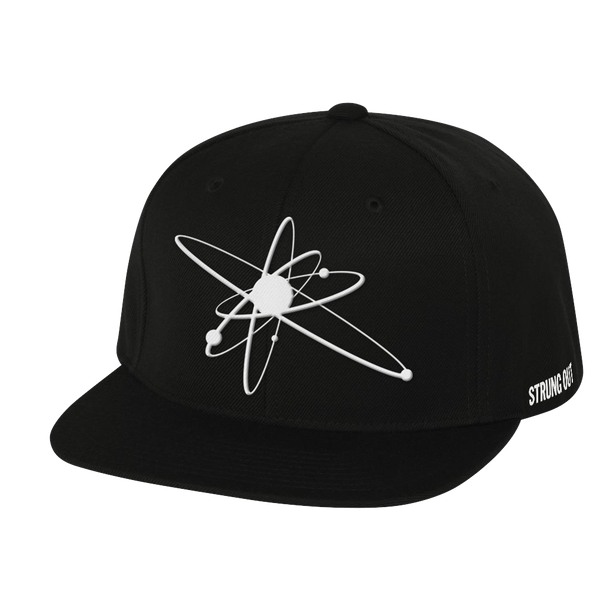 White Embroidered Astrolux Snapback