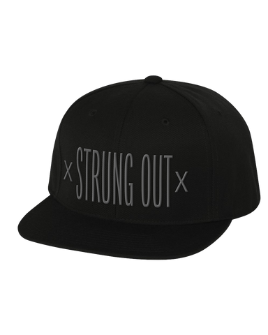 x Strung Out x Snapback Black
