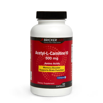 Acetyl-L-Carnitine 10,  500mg