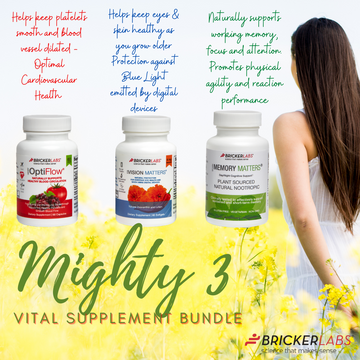 Mighty 3 │ Cardiovascular, Brain & Eye Support