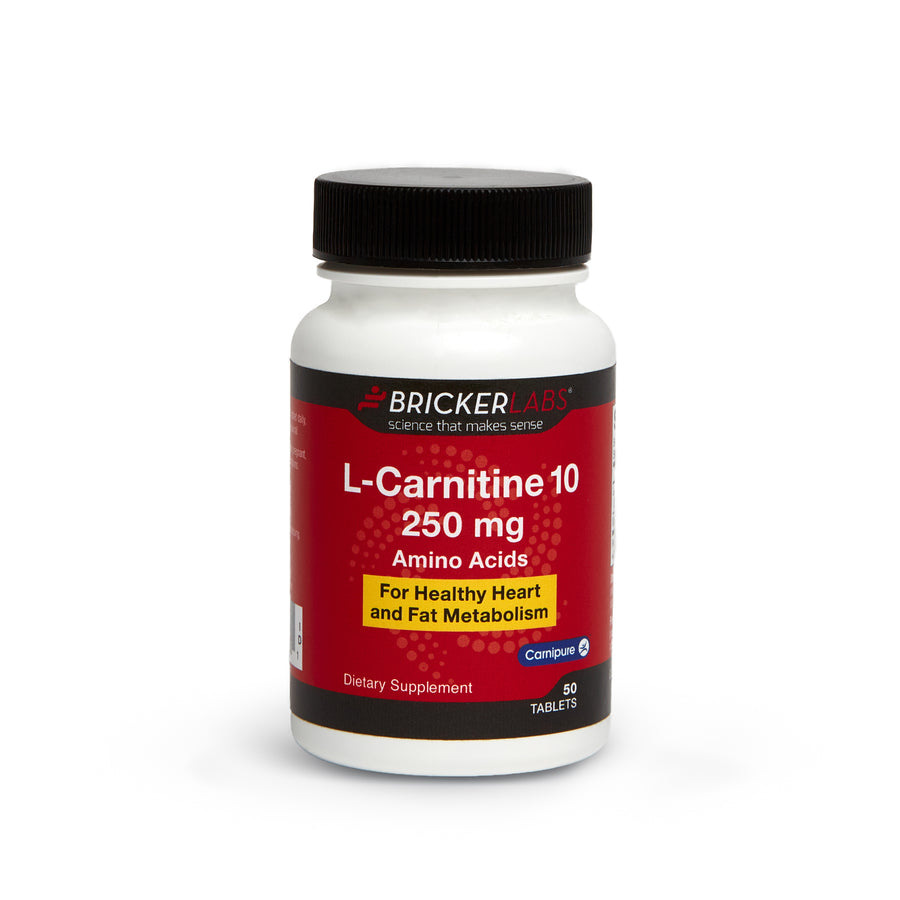 L-Carnitine 10  L-Tartrate with B6 250 mg