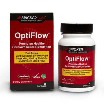 OptiFlow cardiovascular circulation supporting healthy platelets and smooth blood flow.