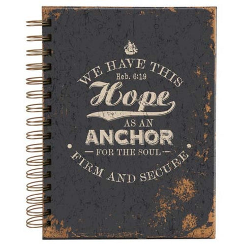 Hope as an Anchor for the soul. Heb 6v19