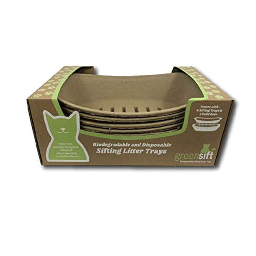 Cat Litter Trays - biodegradable and disposable