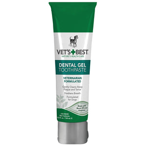 Enzymatic dental gel toothpaste for dogs