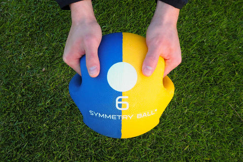 golf symmetry ball hand positioning guide
