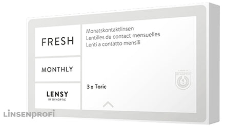 Lensy Monthly Fresh Toric