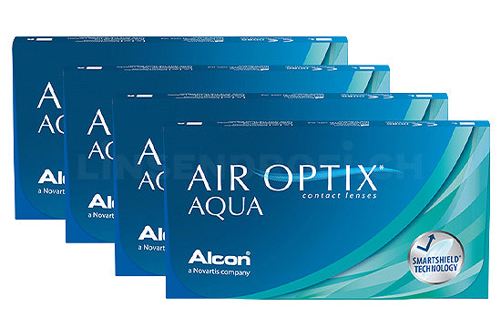Air Optix Aqua (4x6 Stück), SPARPAKET 12 Monate