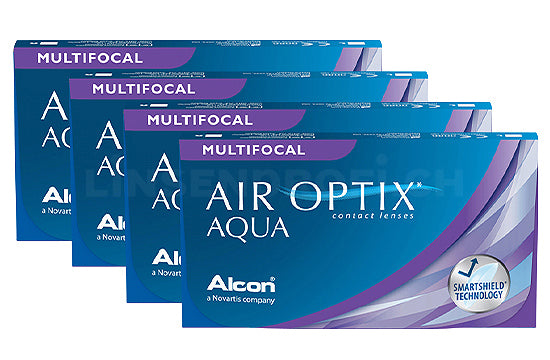 Air Optix Aqua Multifocal (4x6 Stück), SPARPAKET 12 Monate