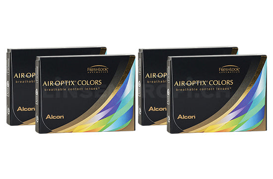 Air Optix Colors (4x2 Stück), SPARPAKET 4 Monate