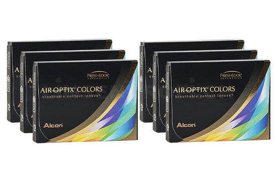 Air Optix Colors (6x2 Stück), SPARPAKET 6 Monate