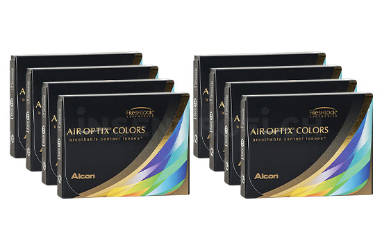 Air Optix Colors (8x2 Stück), SPARPAKET 8 Monate