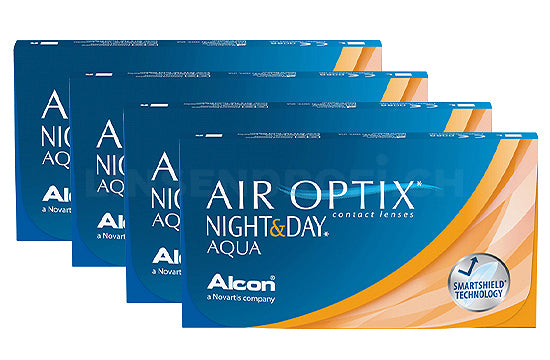 Air Optix Night&Day Aqua (4x6 Stück), SPARPAKET 12 Monate