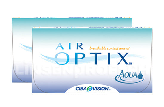 Air Optix Aqua (2x6 Stück) SPARPAKET 6 Monate