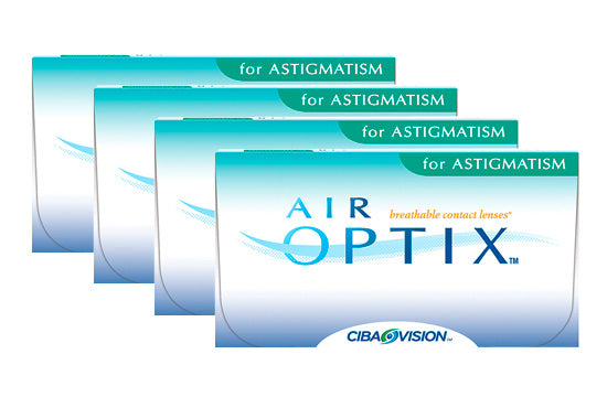 Air Optix for Astigmatism (4x6 Stück), SPARPAKET 12 Monate