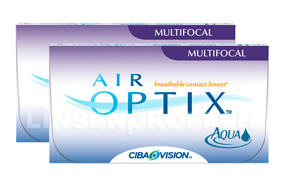 Air Optix Aqua Multifocal (2x6 Stück), SPARPAKET 6 Monate
