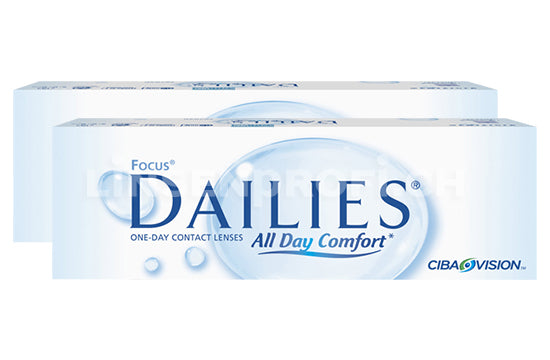 Dailies All Day Comfort (2x30 Stück)