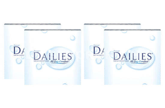 Dailies All Day Comfort (2x180 Stück), SPARPAKET 6 Monate