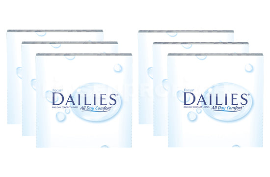 Dailies All Day Comfort (2x270 Stück), SPARPAKET 9 Monate