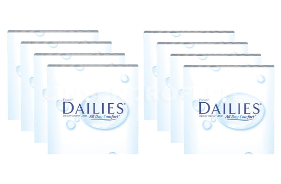 Dailies All Day Comfort (2x360 Stück), SPARPAKET 12 Monate