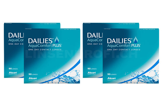 Dailies AquaComfort Plus (2x180 Stück), SPARPAKET 6 Monate