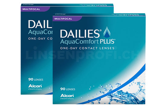 Dailies AquaComfort Plus Multifocal (2x90 Stück), SPARPAKET 3 Monate