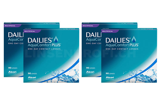 Dailies AquaComfort Plus Multifocal (2x180 Stück), SPARPAKET 6 Monate