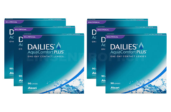 Dailies AquaComfort Plus Multifocal (2x270 Stück), SPARPAKET 9 Monate