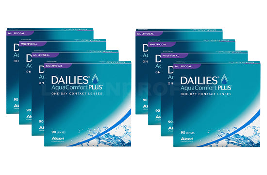 Dailies AquaComfort Plus Multifocal (2x360 Stück), SPARPAKET 12 Monate