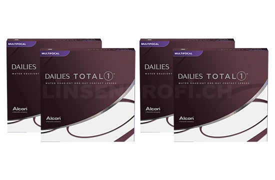 Dailies Total 1 Multifocal (2x180 Stück), SPARPAKET 6 Monate