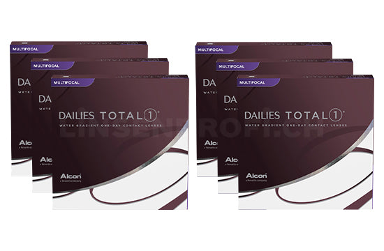 Dailies Total 1 Multifocal (2x270 Stück), SPARPAKET 9 Monate