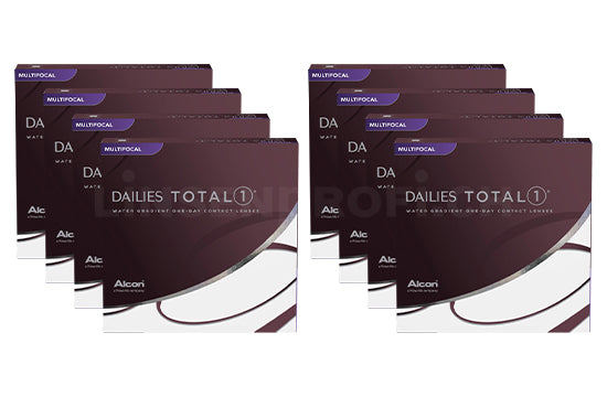 Dailies Total 1 Multifocal (2x360 Stück), SPARPAKET 12 Monate