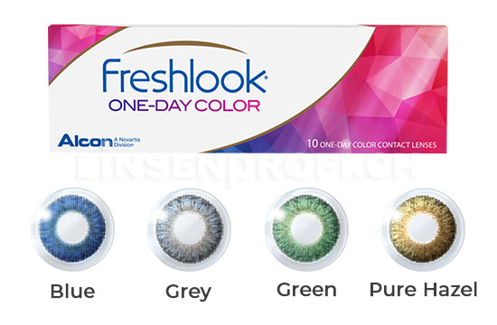 Dailies FreshLook Colors One-Day (4x10 Stück)