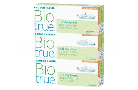 Biotrue ONEday for Astigmatism (1x90 Stück)