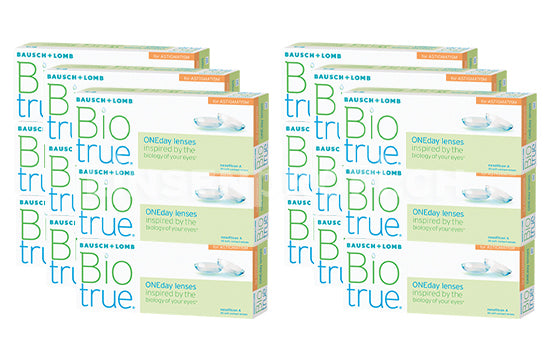Biotrue ONEday for Astigmatism (2x270 Stück), SPARPAKET 9 Monate