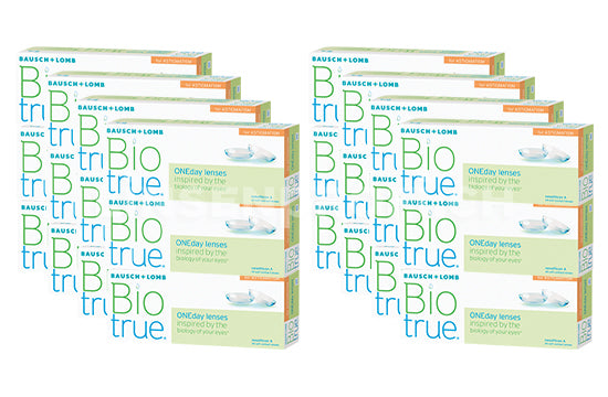 Biotrue ONEday for Astigmatism (2x360 Stück), SPARPAKET 12 Monate