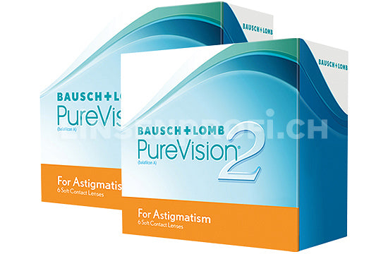PureVision 2 HD for Astigmatism (2x6 Stück), SPARPAKET 6 Monate