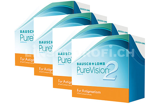 PureVision 2 HD for Astigmatism (4x6 Stück), SPARPAKET 12 Monate