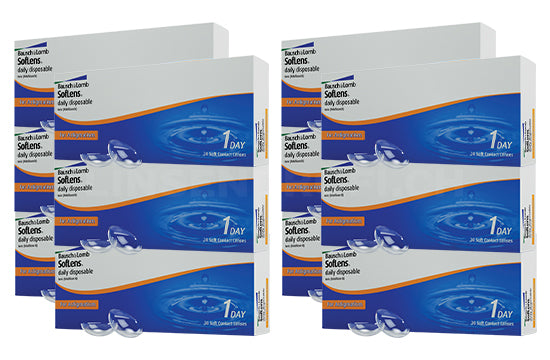 SofLens Daily Disposable for Astigmatism (2x180 Stück), SPARPAKET 6 Monate