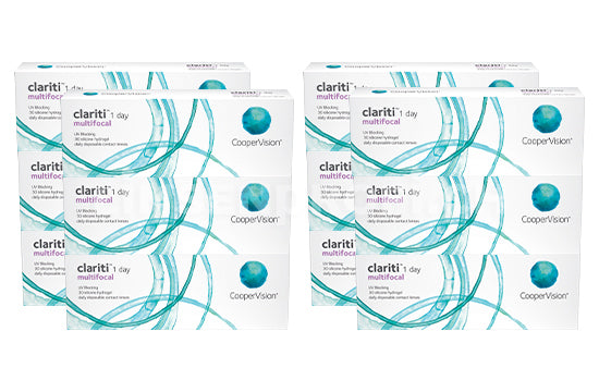 clariti 1 Day Multifocal (2x180 Stück), SPARPAKET 6 Monate