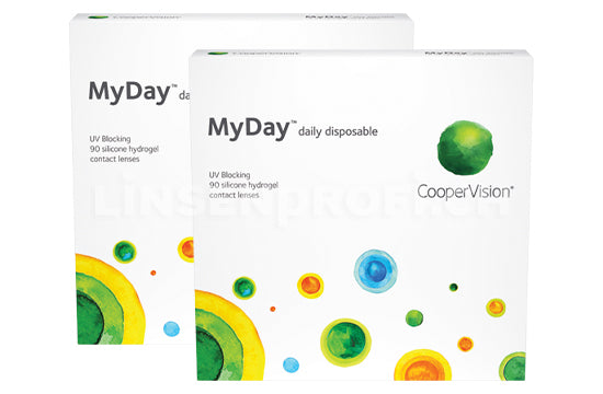 MyDay daily disposable (2x90 Stück) SPARPAKET 3 Monate