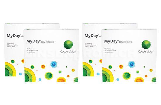 MyDay daily disposable (2x180 Stück) SPARPAKET 6 Monate