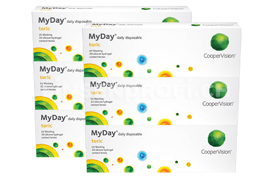 MyDay daily disposable Toric (2x90 Stück) SPARPAKET 3 Monate