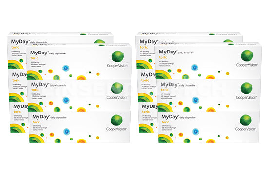 MyDay daily disposable Toric (2x180 Stück) SPARPAKET 6 Monate